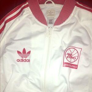 Vintage Adidas Philadelphia 76ers Full zip jacket